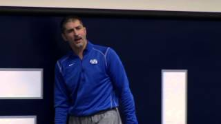University at Buffalo Wrestling First Practice