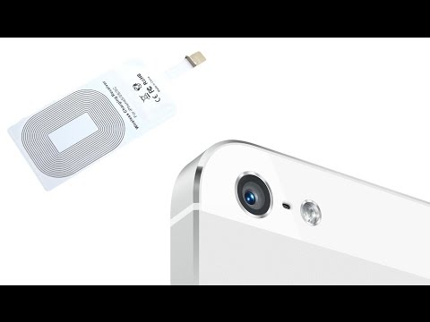 Qi Wireless Charger Receiver, Transmitter For iPhone 6 - Test