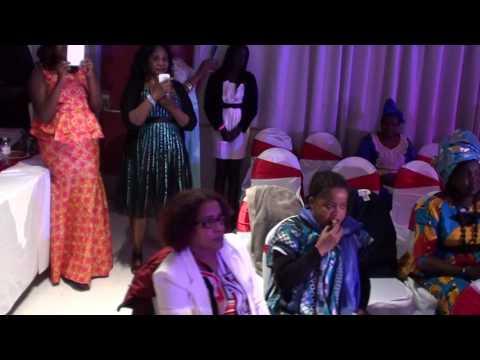 South Sudanese's Aweil Women Fashion Show in Calgary.