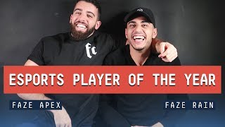 FAZE AWARDS 2018: Esports Player of the Year w/ Apex & Rain