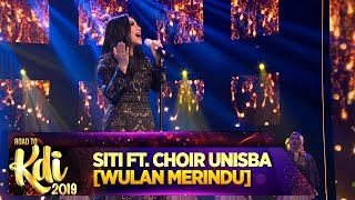 MERDU BANGET!! Siti Ft Choir Unisba - Road To KDI 2019