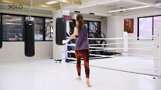 キックボクシング_脚の運びをシャドウでマスター~YOLO vol.6 誌面連動/トレーニングMOVIE~ thumbnail