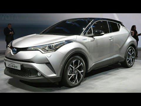 ชมกันชัดๆ Toyota C-HR HV 2018   สีเทา