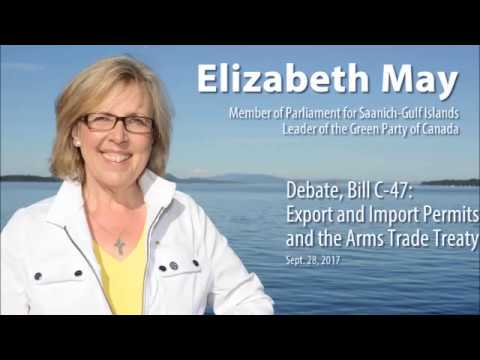 Bill C-47 Export and Import Permits Act and the Arms Trade Treaty