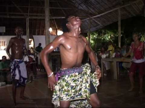 Dancing group from Mlingotini Village Tanzania