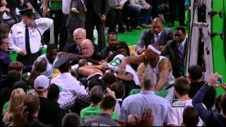 Kris humphries   rondo fight