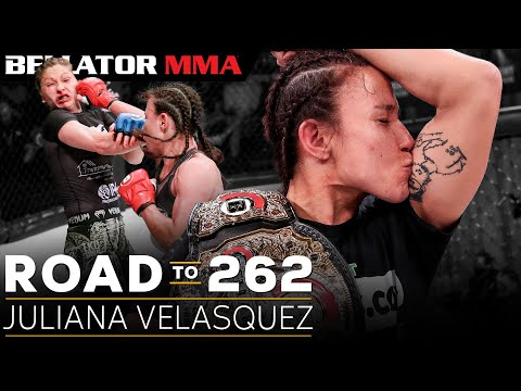 Juliana Velasquez' incredible path to Flyweight Champion   Bellator 262