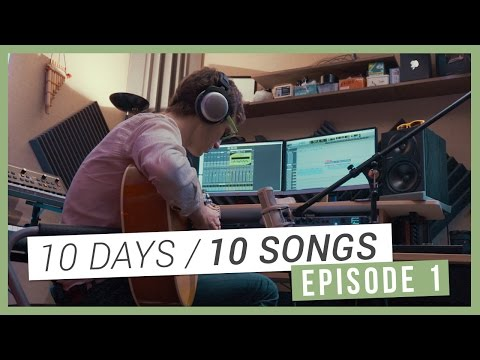 "[10 DAYS / 10 SONGS] Episode 01 - Enregistrement de ""Black Widow"""