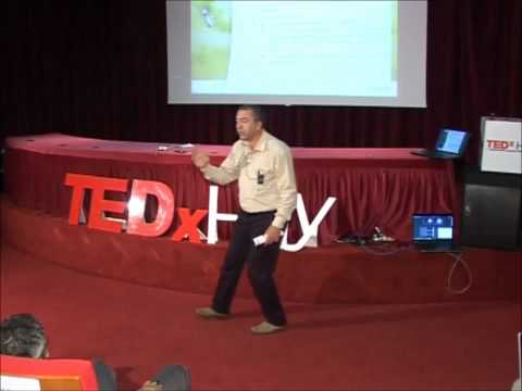 Intelligence holistique et application : Azedine BOULMAKOUL at TEDxHay