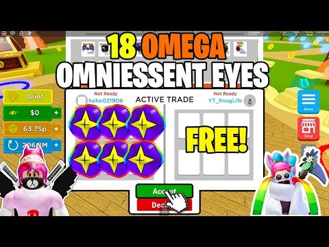 ⚡I WAS GIVEN 18 OF THE BEST PETS *OMEGA OMNIESSENT EYES* IN MAGNET SIMULATOR ⚡
