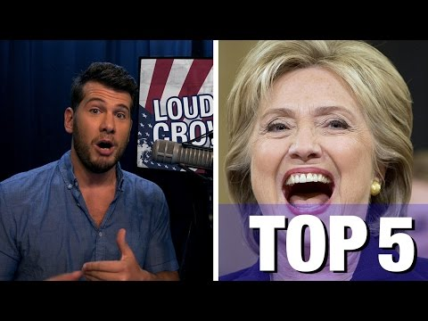 Top 5 Reasons You CANNOT Vote Hillary Clinton