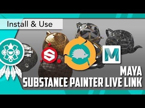 ArtStation - Substance Painter Live Link (Hedgehog Connect