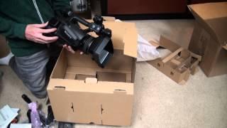 Unboxing my new Sony PXW Z100 4K Camcorder