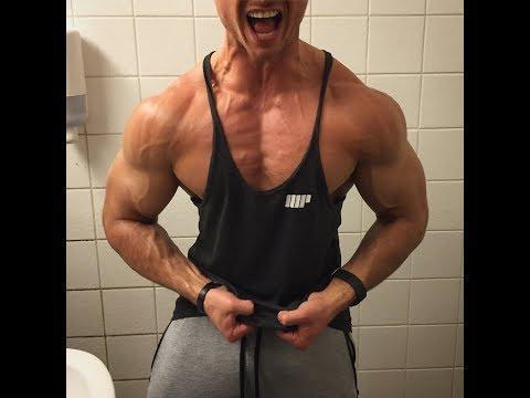 Lazar Angelov Brust Training