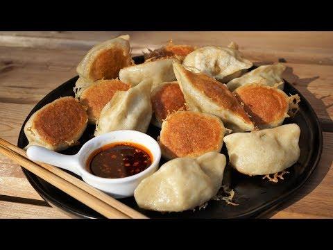 How To Make Chinese Beef Pan-Fried Dumplings - Morgane Recipes