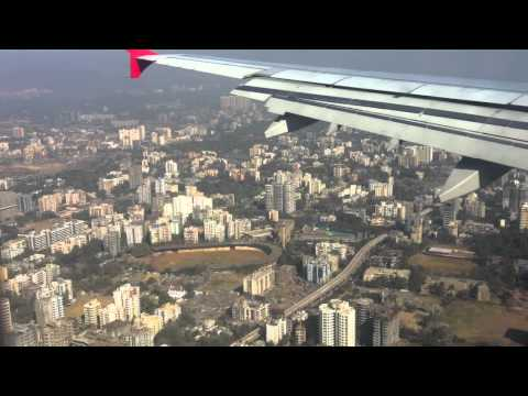 Air India landing in Mumbai - YouTube