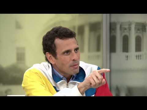 Entrevista a Henrique Capriles (Sept. 2013)