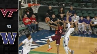 Virginia Tech vs. Washington Basketball Highlights (2018-19)