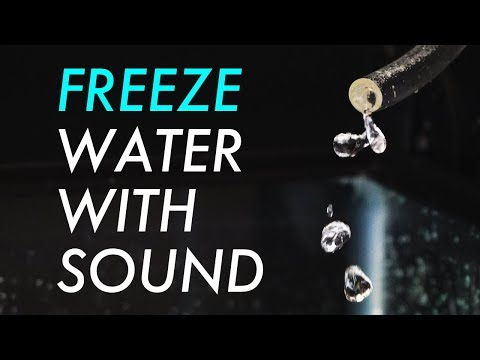 Freeze Water With Sound (Science Experiment)