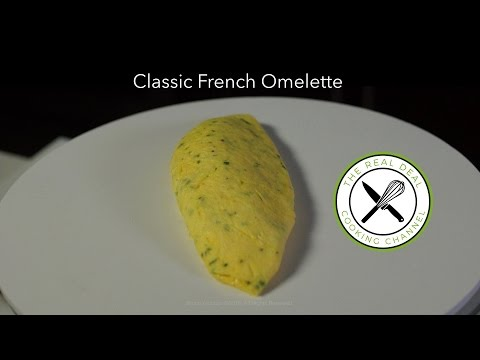 Classic French Omelette Recipe – Bruno Albouze – THE REAL DEAL