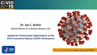 CDC Partner Update on COVID-19: Private Sector - Mar 30, 2020