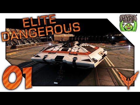 Our New Starship! - Zero To Hero - Ep 01 - Elite Dangerous Playthrough