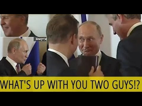 HILLARIOUS: Putin Makes Fun Of Two Guys Hugging Each Other