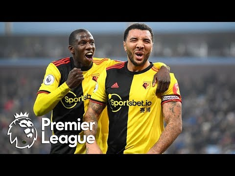 Troy Deeney heads Watford in front v. Aston Villa | Premier League | NBC Sports