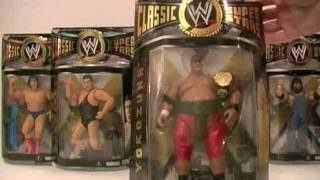 WWE CLASSIC SUPERSTARS my wrestling figure collection PART 1