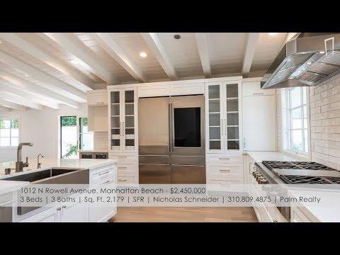 Manhattan Beach Real Estate  New Listings: September 12, 2018  MB Confidential