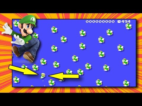 Another 100 Luigi Challenge | Super Mario Maker (Mod)