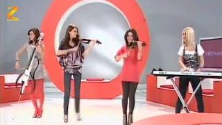 Alexandra Violin & Amadeus Quartet - Train to Moscow @ Leomania TVR1 (2010)