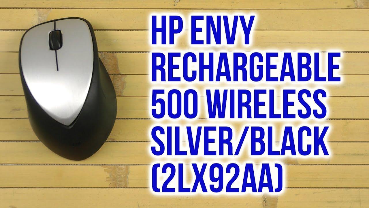 a9cb2e85950 Распаковка HP ENVY Rechargeable 500 Wireless Silver/Black 2LX92AA ...