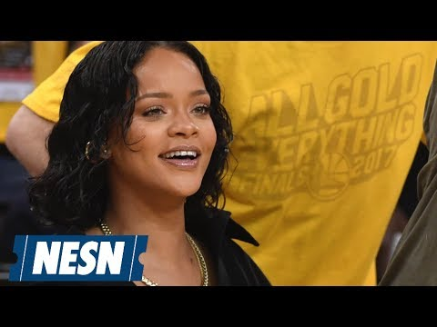 Rihanna Maybe Heckled the Warriors' Kevin Durant During the NBA Finals