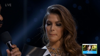 Miss Universe Final Word Competition   LIVE 1-29-17
