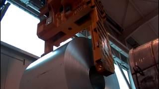 Кран мостовой без раскачивания груза для предприятия Delta-Stahl Gmbh Barsinghausen(Кран мостовой г/п 35 тонн без раскачивания груза для предприятия Delta-Stahl Gmbh Barsinghausen. Кран используется на мета..., 2013-11-01T15:23:18.000Z)