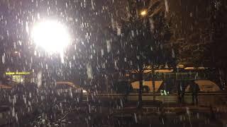 Ankara'da Kar Yağıyor 2018