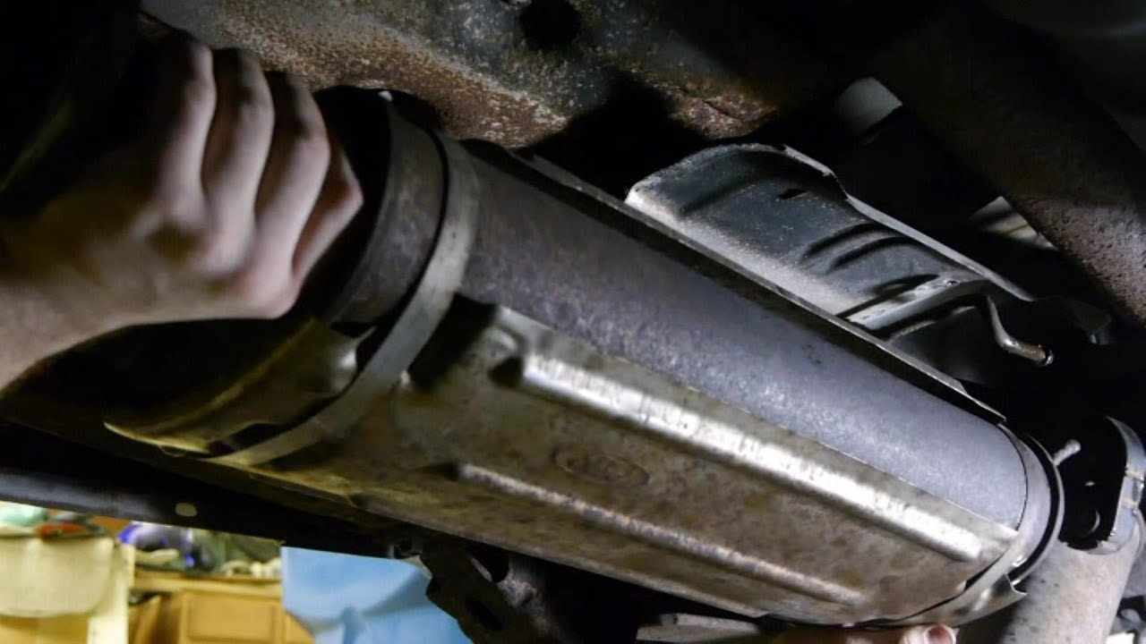 replacing muffler 99 ford explorer sport 4 0 sohc [ 1280 x 720 Pixel ]
