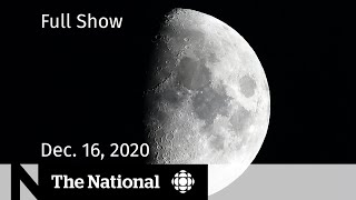 A canadian will be headed to the moon as part of mission building up going mars. covid-19 cases are already crowding hospitals across country and...