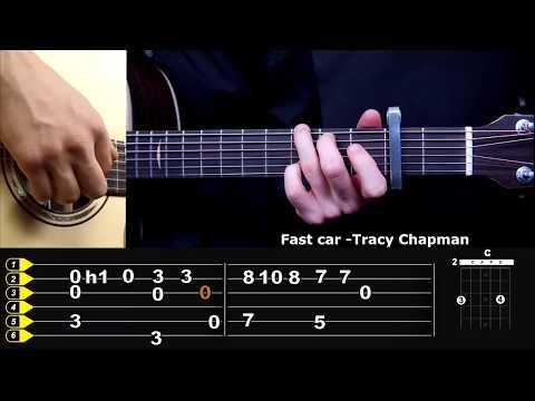 Красивое соло на акустической гитаре видеоурок