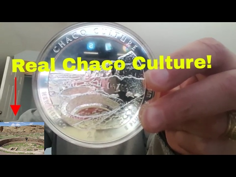 Unboxing 2012 5 oz Silver ATB Chaco Culture National Park, NM Coin