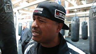 Video Robert Garcia talks Rios vs Danny Garcia stoppage, What he told Brandon after fight download MP3, 3GP, MP4, WEBM, AVI, FLV Juli 2018