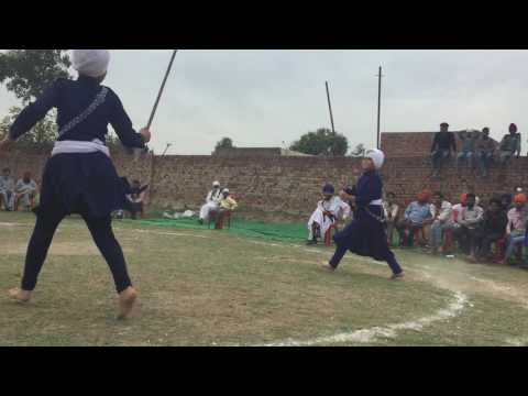 Sikh martial art gatka group vallah amritsar punjab by demo ( girls ) 07307171719