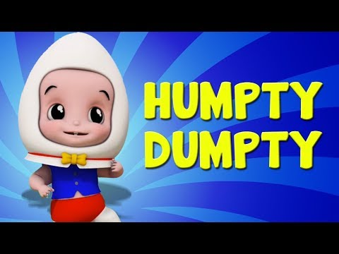 Humpty Dumpty Sat on a Wall | English Rhymes Collections For Kids | Nursery Rhymes For Childrens