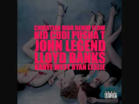 Christian Dior Denim Flow - Kanye West feat. Kid Cudi Pusha T, John Legend, Lloyd Banks