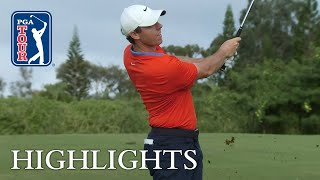 Rory McIlroy's Round 2 highlights from Sentry 2019