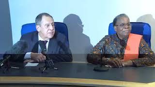 Пресс-конференция по итогам переговоров с мининдел Намибии, Виндхук, 5 марта 2018 г.