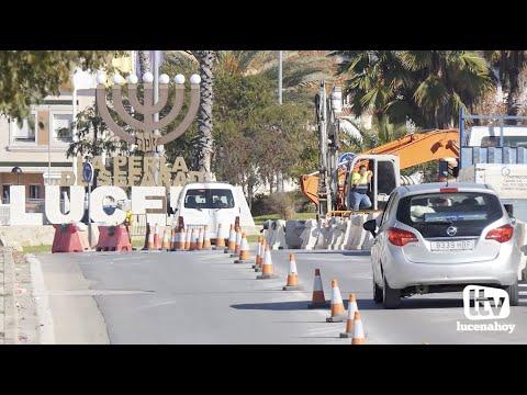 VÍDEO: El ayuntamiento ejecuta una nueva fase de obras de mejora del saneamiento de la zona oeste de Lucena