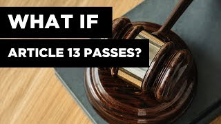 What Happens If Article 13 Passes?