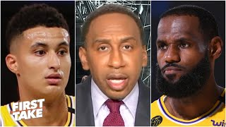 Stephen A. reacts to the Lakers defeating the Nuggets | First Take